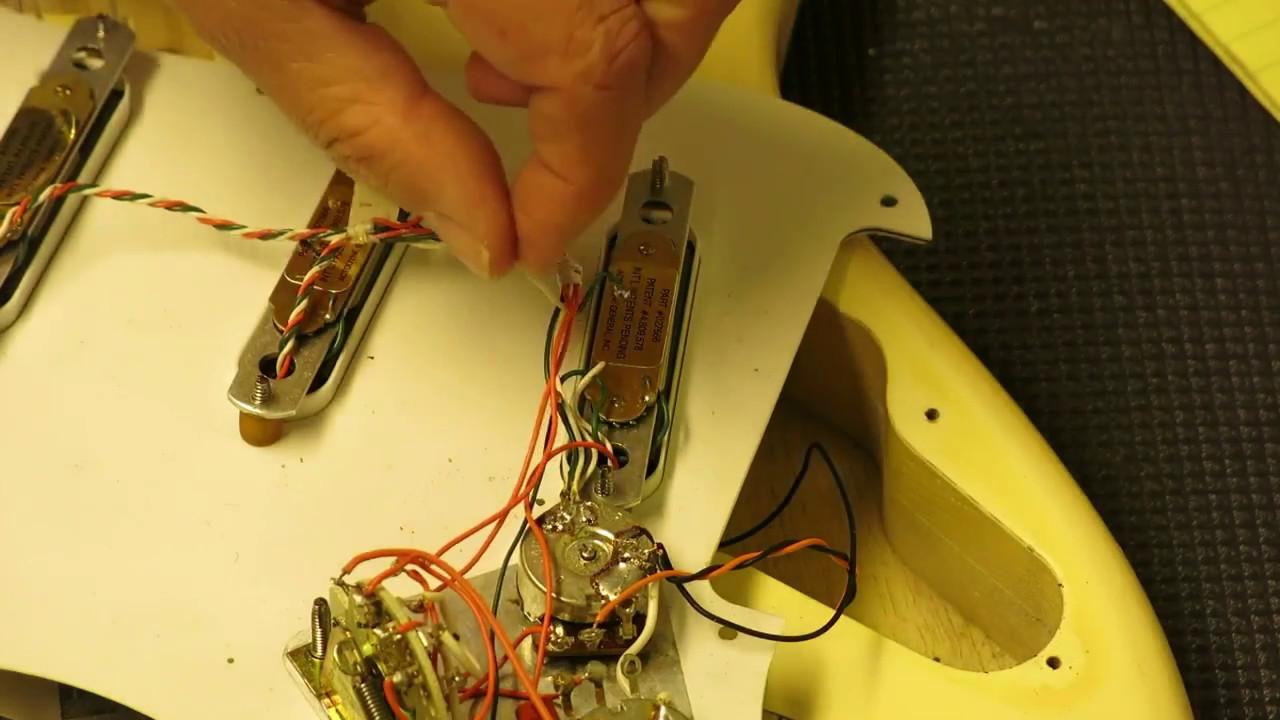 hight resolution of lace sensor humbucking pickup trick and fix youtube lace sensor pickup wiring