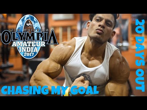 CHASING MY GOAL PART 3 [AMATEUR OLYMPIA]