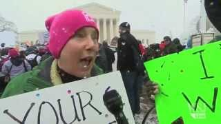 Day of Protest for Supreme Court Birth Control Case