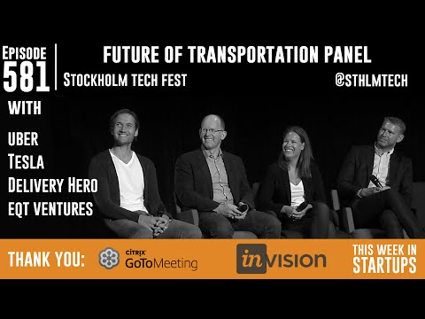 Future of Transpo w/Uber, Tesla, DeliveryHero: becoming global leaders, challenges in road ahead
