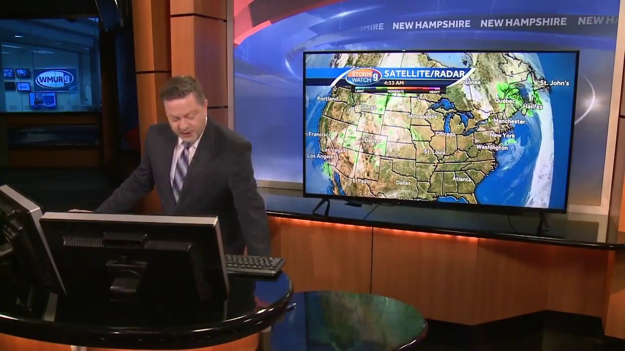 How The Maps Move A Look Behind The Wmur Weather Pod Youtube