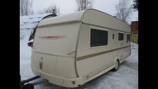 Обзор жилого прицепа для проживания,автодома,каравана TABBERT c французской кроватью!!!
