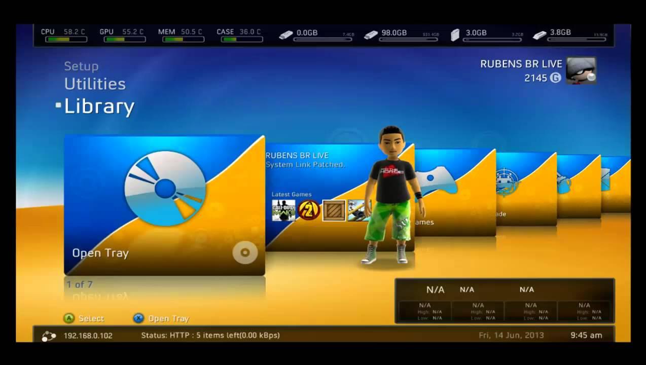 O QUE É UM JTAG OU RGH PARA O VIDEO GAME XBOX360