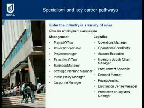 Management and Logistics & Supply Chain - Open Day 2011 - University of South Australia