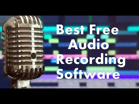 Best Free Audio Recording Software For Windows/Mac/Linux // Download Link  Given Below In Description