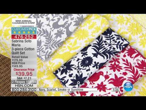 HSN | Bedding Clearance up to 60% Off 12.23.2016 - 07 AM