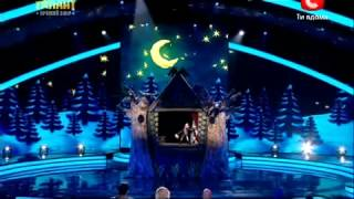 Україна має талант 4!   Шоу театр ДеСаВі 21 04 12