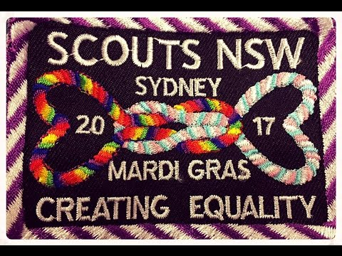 """Scouts NSW Sydney Mardi Gras 2017 - """"Creating Equality"""""""