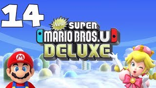 New Super Mario Bros. U Deluxe Part 14 - We Tried - Illegal Umbrella