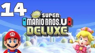 New Super Mario Bros. U Deluxe Part 14 - We Tried - Illegal Umbrella