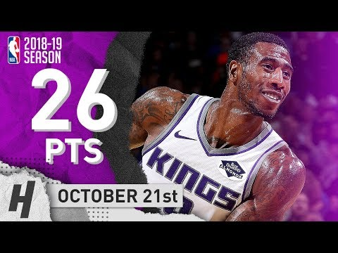 Iman Shumpert Full Highlights Kings vs Thunder 2018.10.21 - 26 Points!