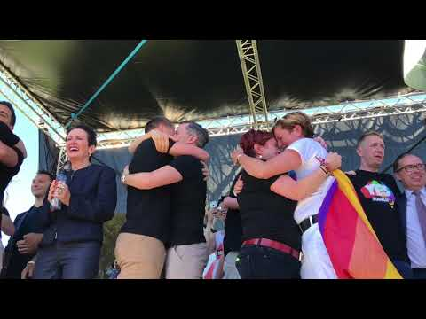 Yes Result Moment - Sydney (Marriage Equality)