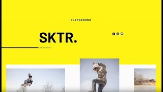 Wix Design Tutorials: Creating a Gallery-Based Site with Strips