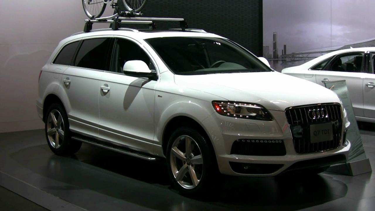 2012 audi q7 exterior and interior at 2012 montreal auto show youtube. Black Bedroom Furniture Sets. Home Design Ideas