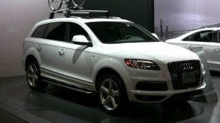 2012 Audi Q7 Exterior and Interior at 2012 Montreal Auto Show