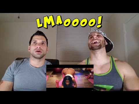 Nicki Minaj - Anaconda REACTION
