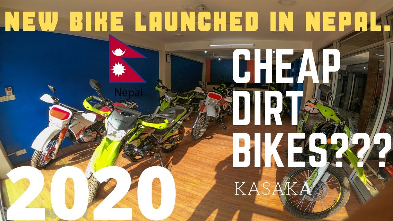New Dirt Bike Launched In Nepal Kasaka Loudest Exhaust
