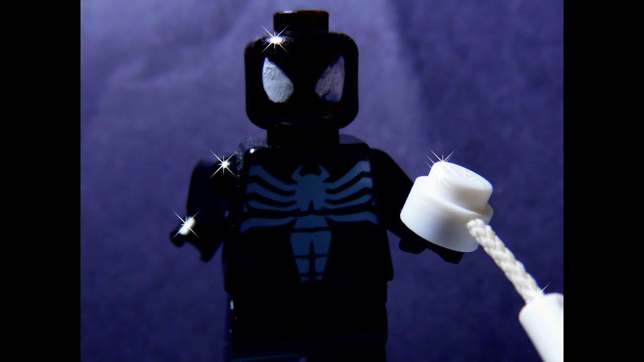 LEGO Black Suit Spider-Man - YouTube