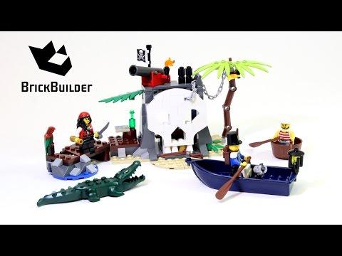 Lego Pirates 70411 Treasure Island  Lego Speed build