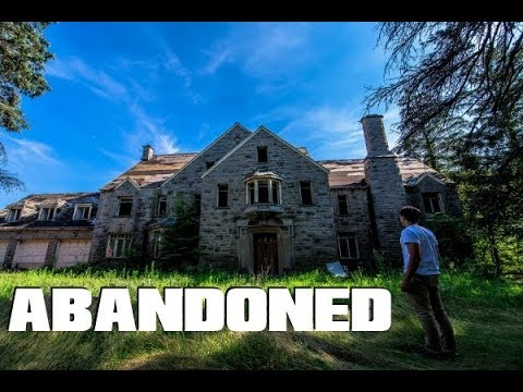 ABANDONED MILLION Dollar Mansion UNTOUCHED