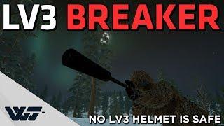 LV3 HELMET BREAKER - Never popped this many Lv3's in a single game - PUBG