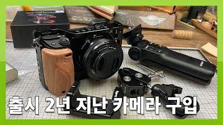 소니 A6400 카메라 구입