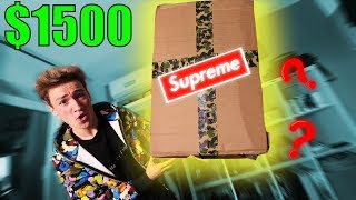 DESCHID UN MYSTERY BOX SUPREME DE $1500 ! (GIVEAWAY)