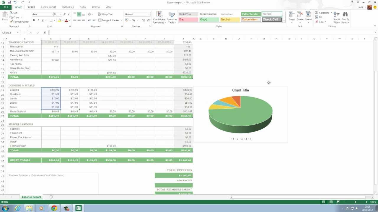 Office 2013 Excel Diagramme mit Animation - YouTube