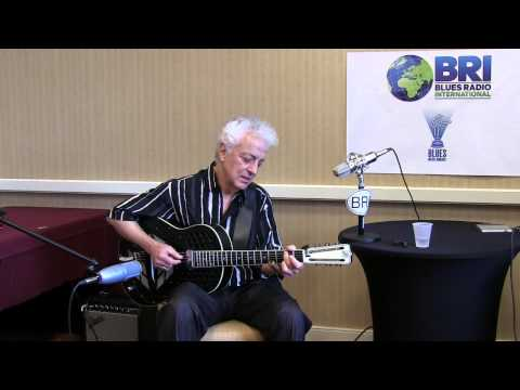 """Heaven's The Only Place"" Doug MacLeod at the 2014 Blues Music Awards in Memphis, Live on Blues Radi"