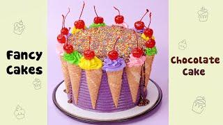 Ice Cream Cake Decorating Ideas #shorts