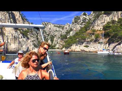 Visite des Calanques de Marseille en bateau