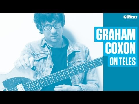 Graham Coxon on Fender Telecasters