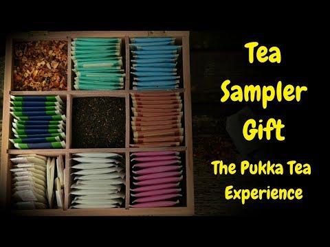 Tea Sampler Gift ✤ The Pukka Tea Experience ✤ Organic Herbal Tea Gifts