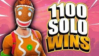 Fortnite - SEASON 6 GRIND! 1100+ Solo Wins! 15K Eliminations. Random Duos & Solos.