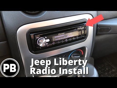 2002 2007 jeep liberty stereo install w  steering volume controls youtube Jeep Wiring Harness Diagram 2004 Jeep Liberty PCM Replacement