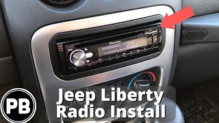2002 - 2007 Jeep Liberty Stereo Install w/ Steering Volume Controls