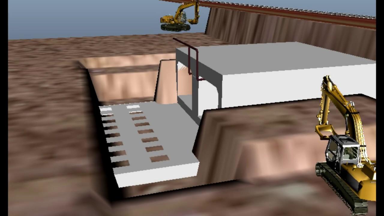 วิธีการก่อสร้าง Box Underpass โดยวิธี Box Jacking [โดย ครุศาสตร์โยธา33  KMUTNB]