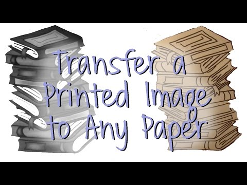 How to Transfer an Image to Use in Your Art Journal