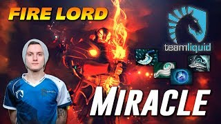Miracle Ember Spirit FIRE LORD Dota 2