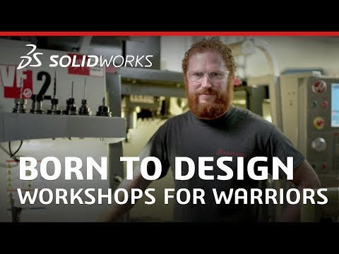 Born to Design: Workshops For Warriors