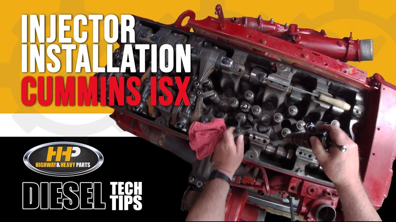 How To: Diesel Injector Installation, Cummins ISX | Highway