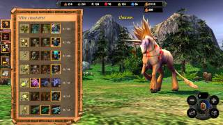 Heroes of Might and Magic 5: Tribes of the East | Sylvan Town (HD 1080p)