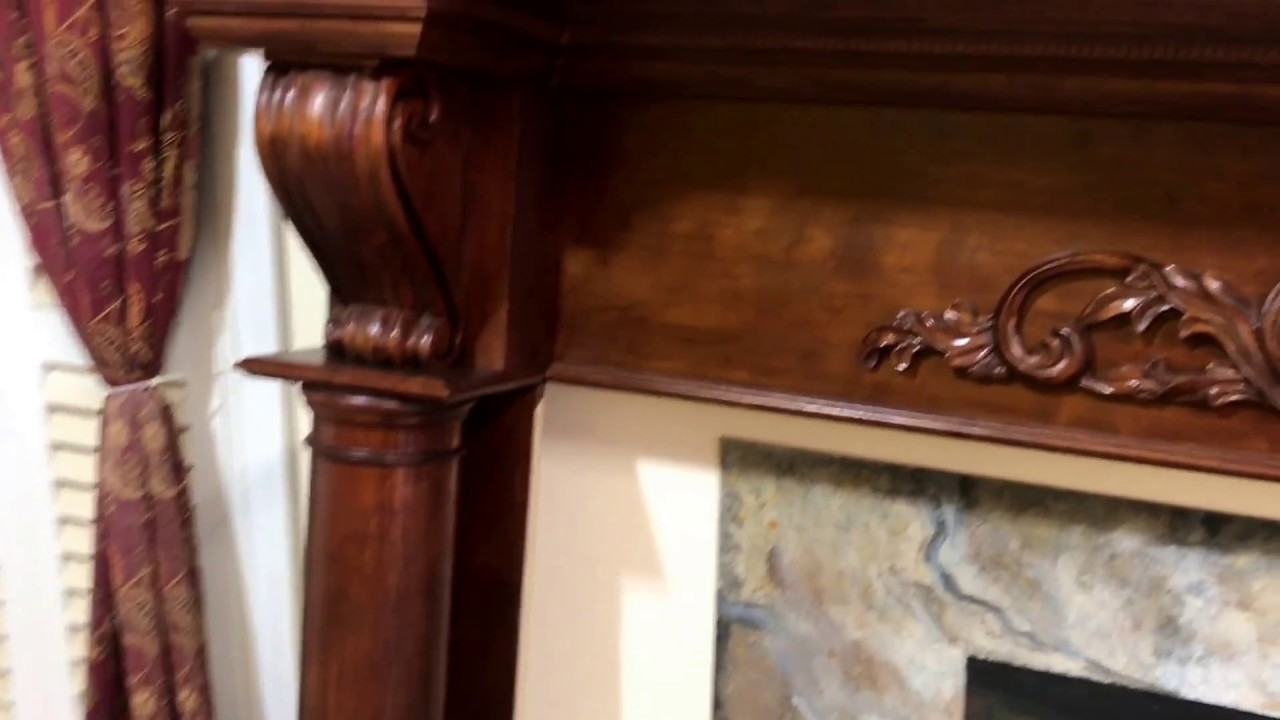 Fireplace Mantels Atlanta The Atlanta Mantel Cherry Wood With Rich Cherry Stain