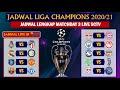 Jadwal Liga Champion Malam ini: Jadwal Lengkap Matchday 3 LIVE SCTV ~ UEFA CHAMPIONS LEAGUE 2020-21