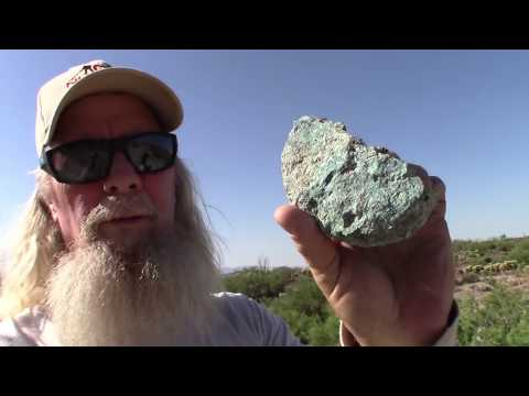 Blue Sky And Blue Rocks, Exploring Arizona's Goldfields