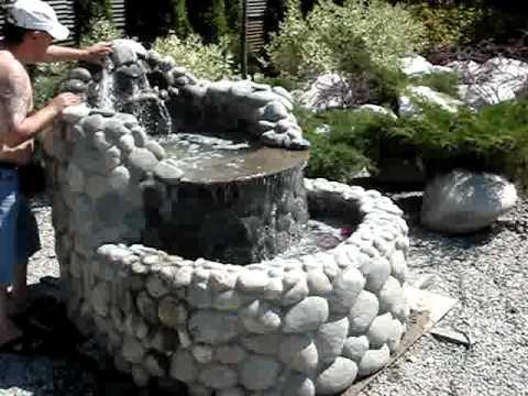 MOV00120 переносной водопад от масонов.