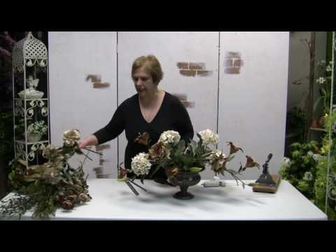 how-to-make-a-traditional-floral-centerpiece-arrangement-with-silk-flowers---part-2