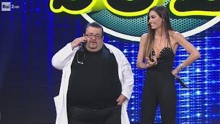Nello Iorio con Elisabetta Gregoraci - Il medico - Made in Sud 26/04/2017