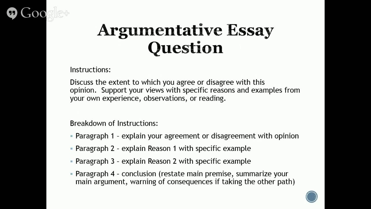 Praxis I PPST: Introduction to the Writing Test Essay Section