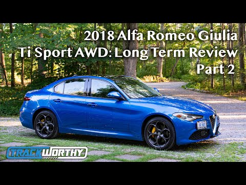 2018 Alfa Romeo Giulia Ti Sport AWD: Long Term Review 2.0